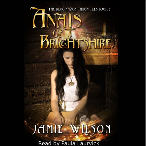 Anais of Brightshire audiobook cover art