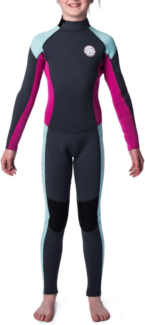 Kid/'s Neoprene Full Suit Chest Zip Wetsuit For Surfing 3//2 mm Snorkeling Rip Curl Dawn Patrol Wetsuit Designed for Durability Watersports Swimming