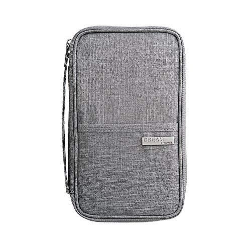 パスポートケース スキミング防止 パスポートバッグ 防水 アコーディオンデザイン 海外 旅行用品 通帳ケース 航空券 カード 小銭 ペン 鍵など収納 大容量 トラベルウォレッド カードパッケージ ポーチ