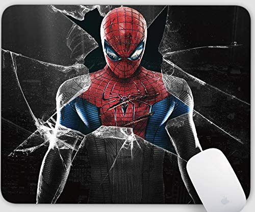 Spiderman Mouse Pads,Gaming Rectangle Mouse Mat for Cute Women, Girls, Non-Slip Rubber Mousepad for Office Computers Laptop