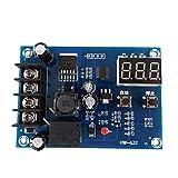 XH-M603 HW-632 Módulo de Control de Carga 12-24V Almacenamiento Control de batería de Litio Interruptor Inteligente Tablero de protección con Pantalla LED Kaemma(Color:Blue)