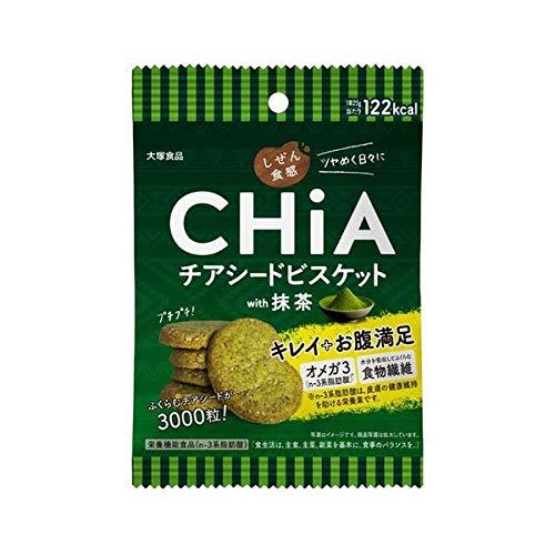 大塚食品 しぜん食感 CHiA 抹茶 25g×6個