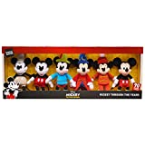 Mickey Mouse 90th Anniversary Through The Years Bean Plush Collector Box Set