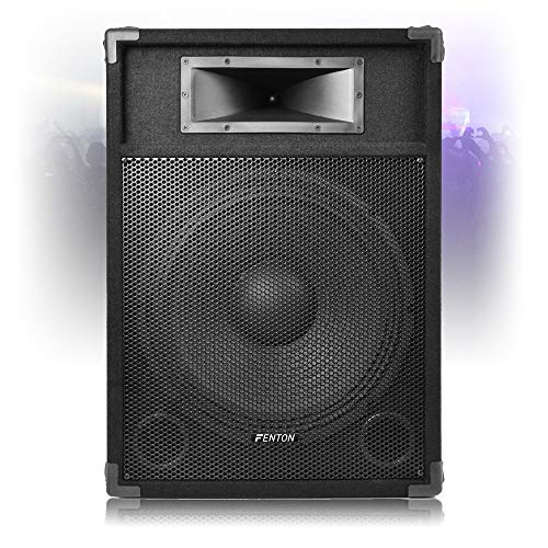 Fenton CSB 15' Active Speaker PA Sound System with Built-in...