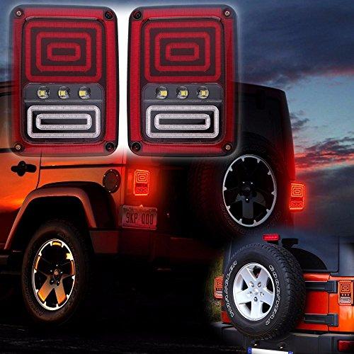 LED feux arrière de freinage Nouveau style de Serpent lampe-signal pour véhicule (2 pièces)