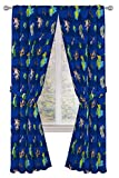 Disney Toy Story Buzz & Woody 84' inch Drapes - Beautiful Room Décor & Easy Set Up, Bedding Features Forky, Ducky, & Bunny - Curtains Include 2 Tiebacks, 4 Piece Set (Official Disney Product)