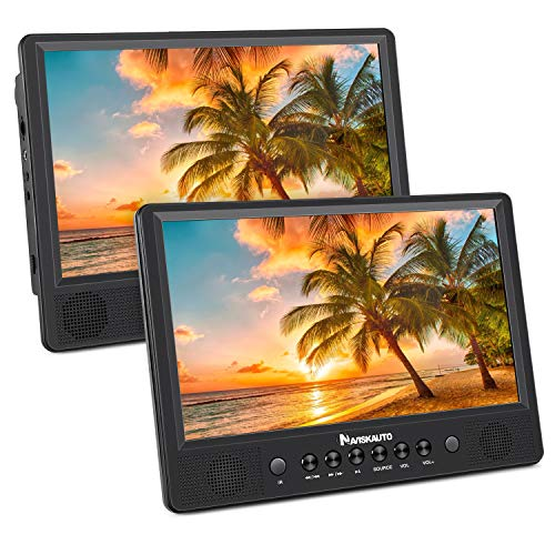 Learn More About NAVISKAUTO 10.1 Portable DVD Player Dual Screen for Car, Headrest Video Player wit...