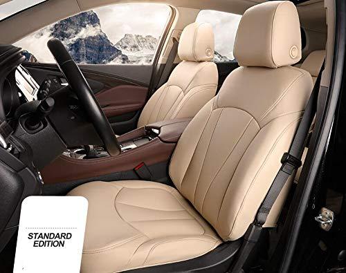 DDHZTA Coprisedile per Auto Compatibile con Jeep Renegade, Compass, Patriot, Cherokee, Wrangler, Grand Cherrokee,Beige,GrandCherrokee