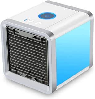 Agnes USB Mini Refrigerador De Aire Portátil De Aire Acondicionado Ventilador Humificador Home Office