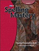 Spelling Mastery Level F, Teacher Materials