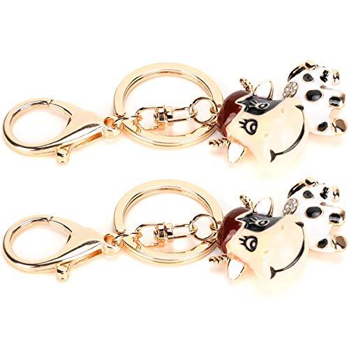 Llaveros con cadena 2 uds, Accesorios para manualidades de joyería DIY, para llaveros, joyería, llavero con cierre de garra de langosta dorada
