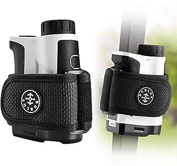 BOBLOV Bundle Deal Golf Rangefinder+Rangefinder Magnetic Strap Golf Rangefinder with Vibrating and Speed Measure 2pcs Big Strong Magnet Strape