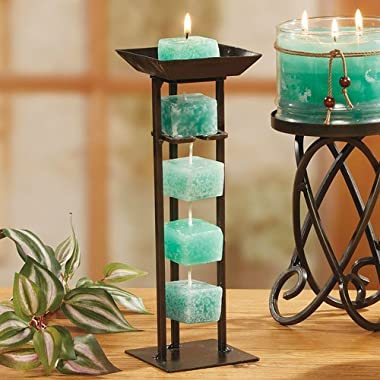 DecoGlow Candles on a Rope - Ocean Mist