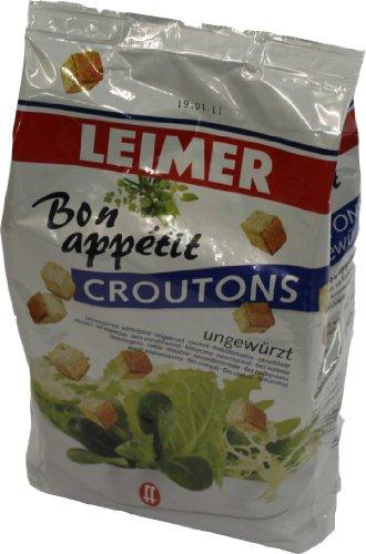 Gebrüder Leimer Croutons ungewürzt 500g
