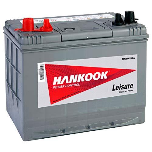 Hankook Batterie 80Ah Profonde Cycle Loisirs - DC24MF - 4 Ans de Garantie