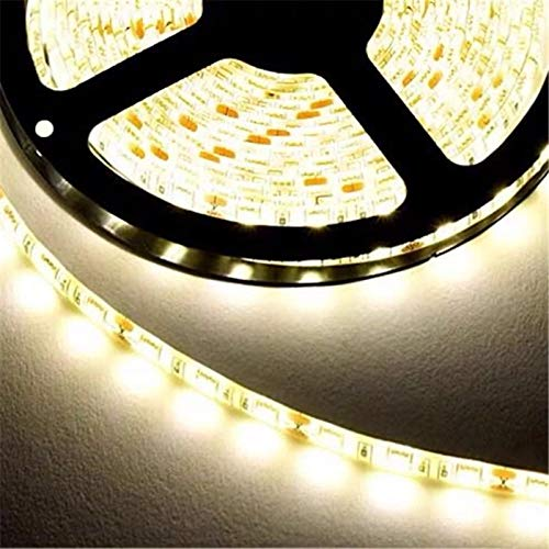 Tiras de LED 5M / rollo de tira de led 2835 Flujo luminoso más alto que el viejo 3528 5630 5050 Tira de luz LED SMD 60LEDs / M 12V lámpara Decoración de cadena