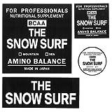 THE SNOW SURF ステッカー 4種類セット