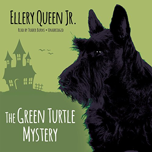The Green Turtle Mystery audiobook cover art
