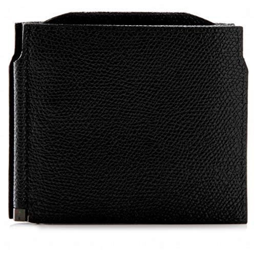 Valextra(ヴァレクストラ)財布メンズグレインレザーマネークリップブラックV0L54-028-000NRD[並行輸入品]