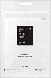 COSRX Clear Fit Master Patch, 18 Patches, 0.01 kg Pack of 1