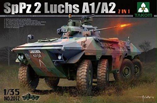 TAKOM TAK2017 - 1/35 SP Panzer 2 Luchs A1/A2