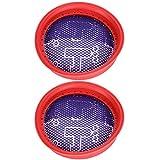 2 Pièces Filtre D'aspirateur, Aspirateur à Main Filtre de Remplacement de Noyau de Filtre Accessoires de Filtre pour Dibea D18 D008Pro Fournitures Ménagères de Poche