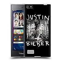 オフィシャル Justin Bieber アルバムカバー Purpose BlackBerry Leap 専用ソフトジェルケース