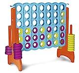 FEBER- Mega 4 en Raya Gigante, para Exterior e Interior, Multicolor (Famosa 800012910)