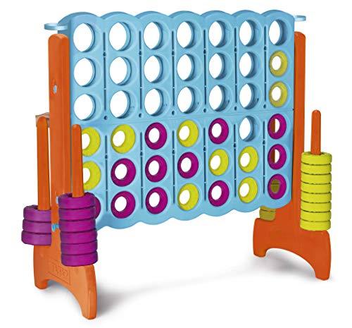 Feber- Riesiges Brettspiel, vier in einer Reihe, 120 Zentimeter hoch, für die ganze Familie (Famosa 800012910)