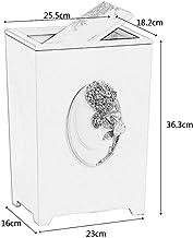 MU Kreative Nordic Large Shake kosz na śmieci, rzeźbiony żywicą gospodarstwo domowe łazienka sypialnia salon kosz na papier