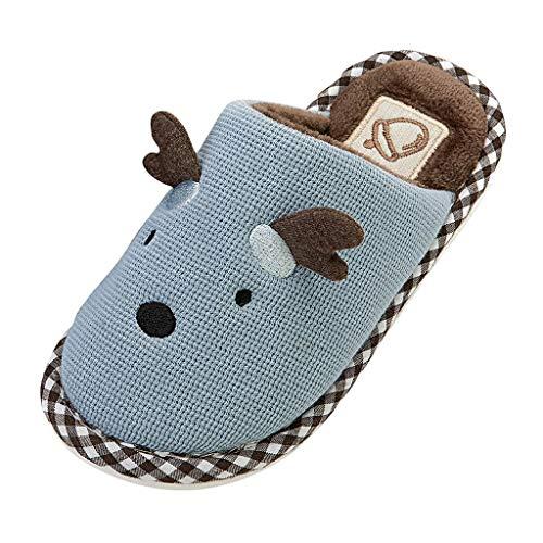 LEXUPE Babyschuhe Kleinkind Jungen Mädchen Kinder Casual Turnschuhe Mesh Weichen Laufenden Brief Schuhe(Blau,190)