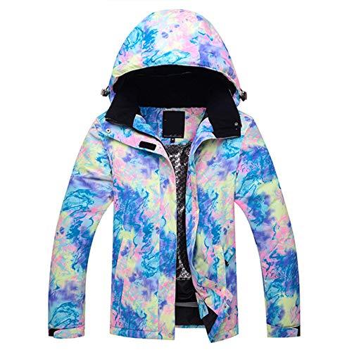 Ladies Ski Suit Damer skidkläder snowboard kläder utomhus varma bomull kläder Praktisk Utomhus Bergsklättring (Color : A, Size : Medium)