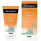 Neutrogena Clear and Defend Moisturiser, 50 ml