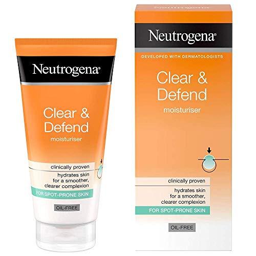 Neutrogena Crema Hidratante Clear And Defend, 50 Ml.