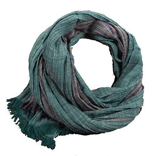 Mannen en vrouwen herfst moderne winter en casual boom warme sjaal kunst wilde plooien strepen paar sjaal A één maat