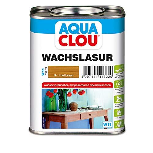 Clou Wachslasur W11 hellbraun 0,750 L