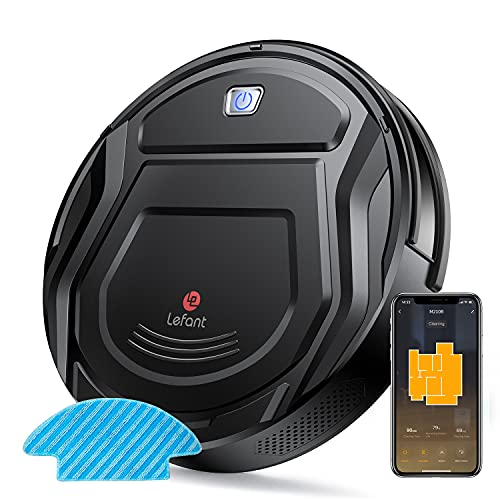 Lefant Robot Vacuum Cleaner, Ultra-Thin Robotic Vacuum and Mop Combo with 2000Pa Suction, Compatible...