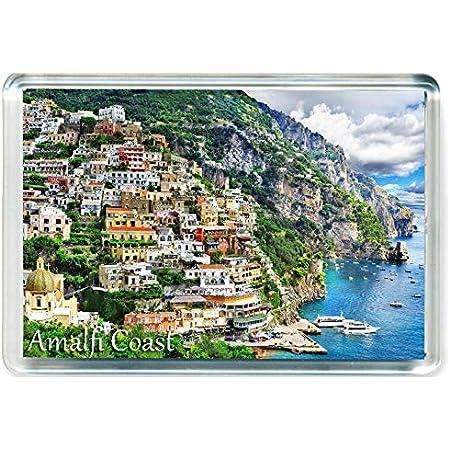 I Dream of Jeannie J095 Amalfi Coast Naples Jumbo Aimant pour Le Frigo Italy Travel Fridge Magnet