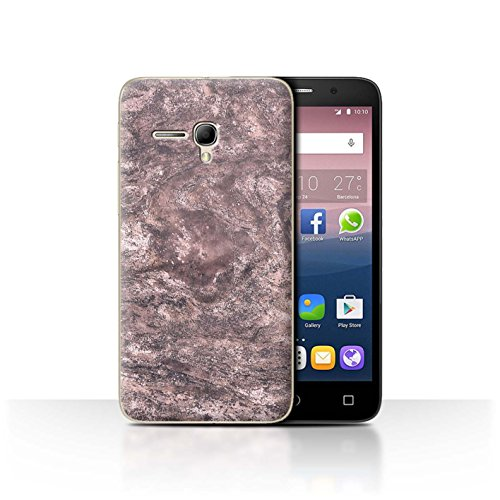 STUFF4Phone Case/Cover/Skin/alcpop355/Pink Fashion Collection Marbre Sombre