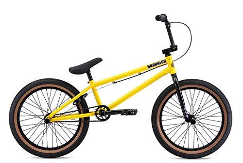 SE Bikes BMX Bike - Felpa con cappuccio, giallo, 22 cm