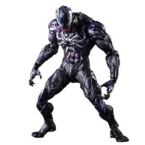 lkw-love Marvel Spiderman Venom Toys - Venom Action Figure 11 Zoll - Gelenke können aktiv Sein Geeignet für Kinder ab 3 Jahren Kindergeburtstagsgeschenk-Sammlung