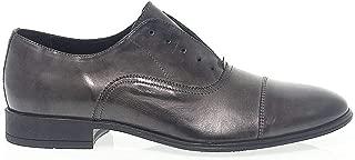 ANTICA CUOIERIA Luxury Fashion Mens ANTIC19765G Grey Lace-Up Shoes | Season Permanent