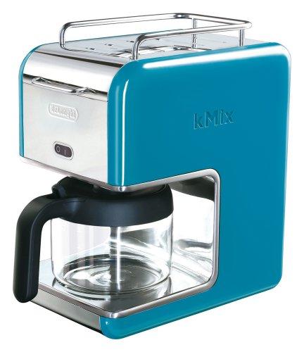 DeLonghi kMix(ケーミックス) ブティック ドリップコーヒーメーカー ブルー 6杯用 CMB6-BL