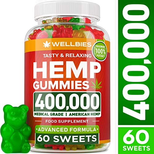 Premium Hemp Gummies - Natural Hemp - Made in USA - King Size 30000MG - Boost Memory Function, Improved Sleep, Support Good Mood - Fast Results - Rich in Vitamins B, E, Omega 3, 6, 9