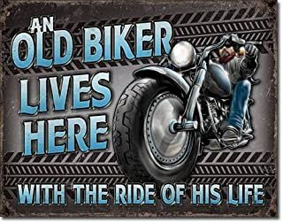 The Finest Website Inc. New Sign - an Old Biker Lives Here 16