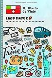 Lago Mayor Diario de Viaje: Libro de Registro de Viajes Guiado Infantil - Cuaderno de Recuerdos de Actividades en Vacaciones para Escribir, Dibujar, Afirmaciones de Gratitud para Niños y Niñas