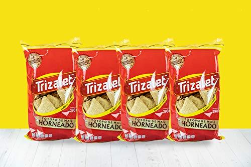 4 Pack de Totopos de Maiz Horneados (290 Gramos Cada Paquete)