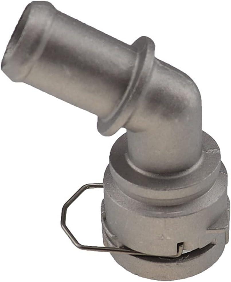 Prospective Conector de Tubo de Agua de Acoplamiento de Aluminio refrigerante Ajuste para VW Golf MK4 Jetta FIT para Audi TT 1J0122291D 1J0 122 291 D