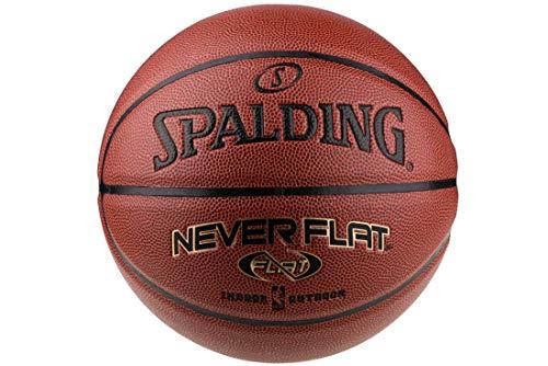 Spalding NBA Neverflat In/Out 74096ZP - Pallone da calcio, unisex, colore: Arancione/Nero/Oro 7