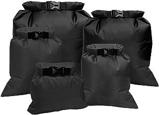 Fantye 5 Pack Waterproof Dry Sacks, Lightweight Outdoor Dry Bags Ultimate Dry Bags for Rafting Boating Camping